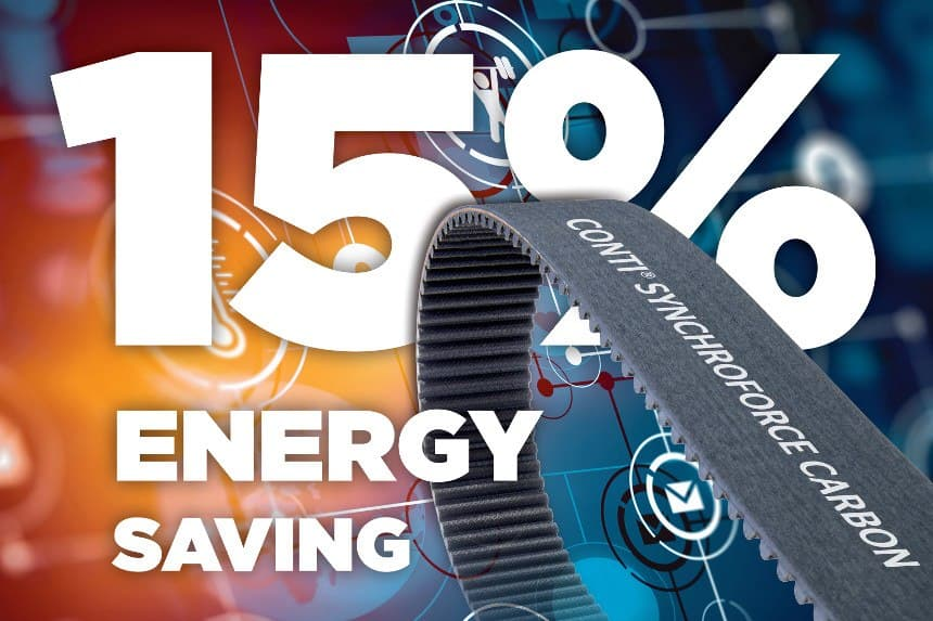 Energy-Saving Belts - Save 15 %
